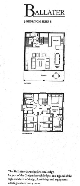 Craigendarroch 3 Bd Lodge Layout.png